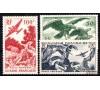 n°PA 35/37 - Faune - Série de 1947 - 3 valeurs.