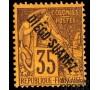 Diego-Suarez - n° 22 - Type Sage - n° 22 - 35c Violet-noir sur jaune.