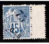 Gabon - n°  5 - Alphée Dubois - 75c sur 15c.
