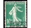 France - n° 188B - 10c Semeuse vert.