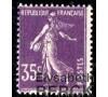 France - n° 142 - Semeuse 35c violet fond plein.