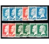 France - n° 170/181 - Série Pasteur.