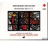 France - Carnet Croix-Rouge 1981.