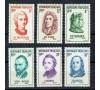 France - n°1082/1087** - Série complète : Chopin - Van Gogh - Franklin - Lulli - Rousseau - Pétrarque. Luxe