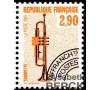 France - n°Pr 204a - 2f90 Trompette dentelé 13