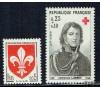 France - n°1230/1434 - 5 Années complètes de 1960 à 1964 - 215 timbres.