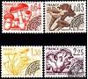 France - n° Pr158/161 - Série des Champignons.