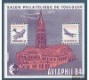 France - Bloc n°  5 - CNEP 1984 - Aviaphil - Airbus - Toulouse