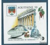 France - Bloc n° 12 - CNEP 1991 - Aqutaine - Bordeaux - Train - Vin.