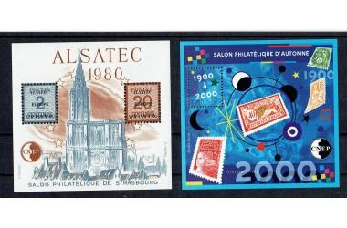 http://www.philatelie-berck.com/8163-thickbox/france-bloc-n-1-a-32-cnep-1980-a-2000-complet-soit-32-blocs.jpg