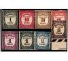 France - n°Taxe 55/62 - Série complète de 1927/1931