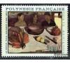 Polynésie - n°A   25  -  Le Repas de Paul GAUGUIN.