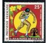 Polynésie - n°A  93 -  25f  Lancé de poids - Jeux du Pacific-Sud.
