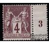 France - n° 88 - Type Sage - 4c lilas-brun.