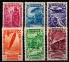Espagne - Bienfaisance - n° 53/58 - Histoire de la Poste.