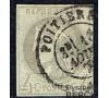 France - n°  41 - 4 c gris - Gouvernement provisoire  - BORDEAUX